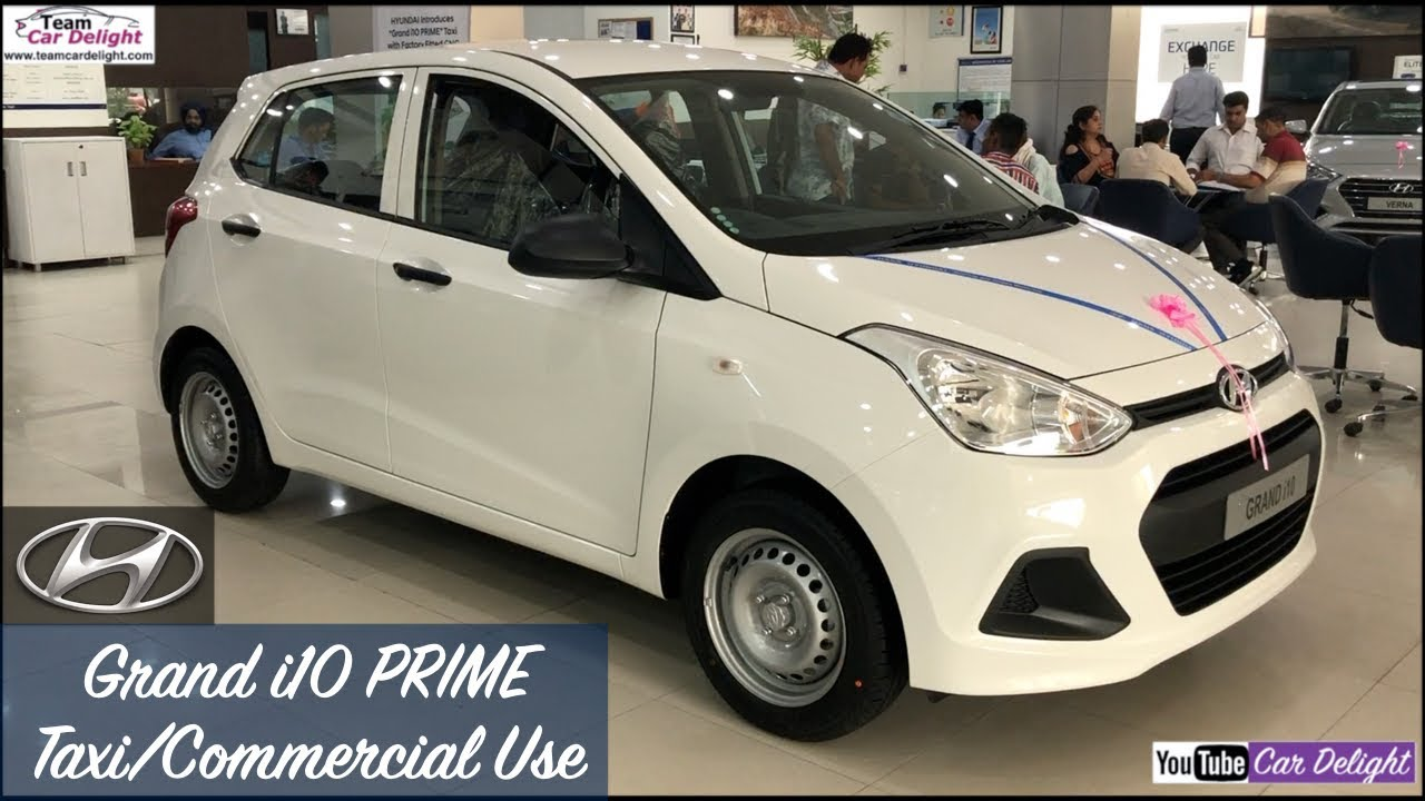 Grand I10 Prime Cng Petrol And Diesel For Taxi Commercial Use