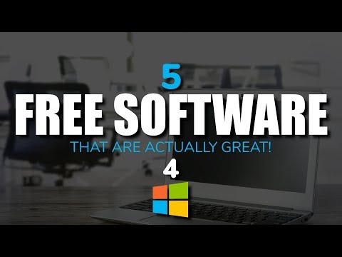 5 Free Software That Are Actually Great! (August 2017)
