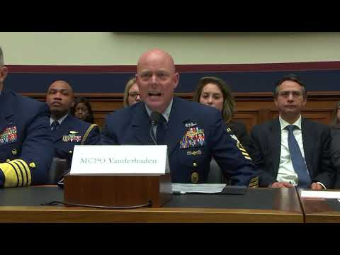 Master Chief Vanderhaden, Master Chief Petty Officer Of The Coast Guard, United States Coast Guard