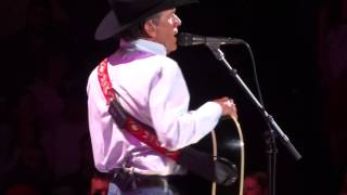 George Strait Denver 2014 - I Got A Car