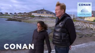 Conan Encounters Greenland's Sea Creatures - CONAN on TBS