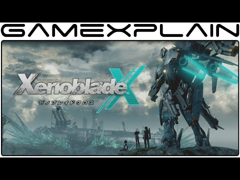 Xenoblade Chronicles X - The First 2 Hours (6 Hour Livestream Part 1)
