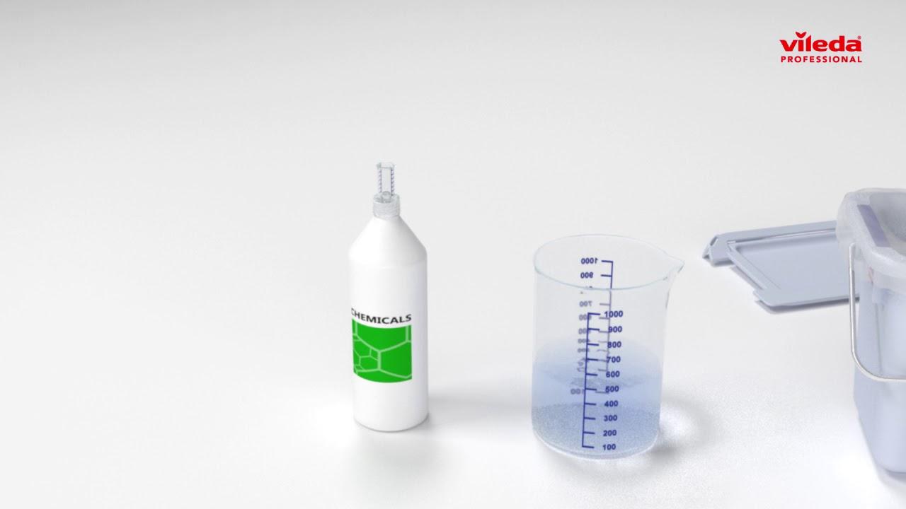 Vileda Professional Glass Cloth.Vileda Professional Microone Microfiber Disposable Wipe How To