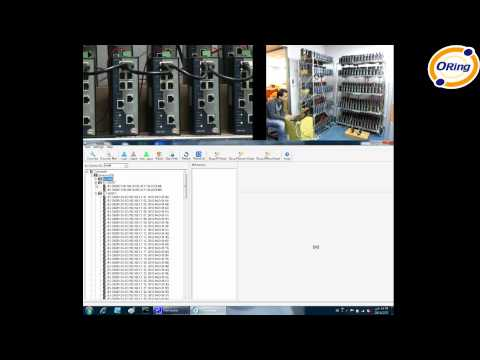 ORing Industrial Networking Corp. — Open-Vision v3.0 ORing Commander Demo (hardware + screen)