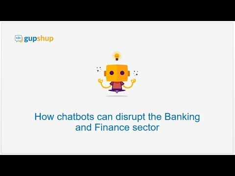 How bots can disrupt the Banking and Finance sector