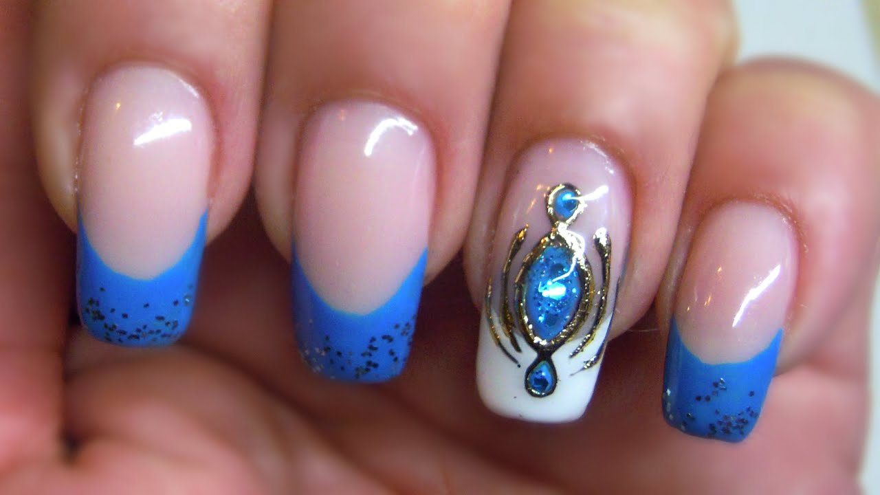 Liquid Stone Nailart