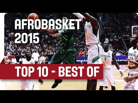 Top 10 Plays - AfroBasket 2015