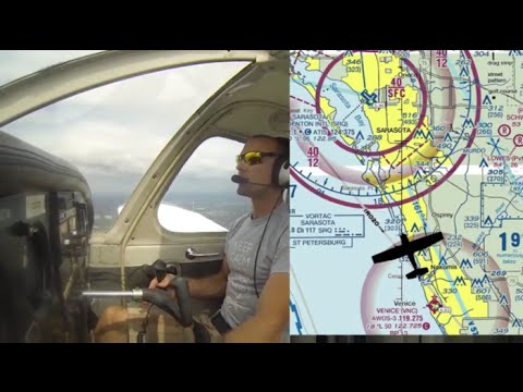 Ep. 44: Landing at Class C Airport | ATC Radio Communications