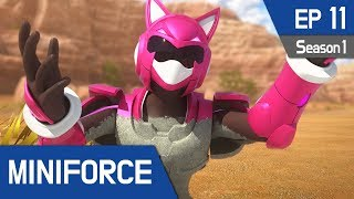 MINIFORCE Season 1 Ep11: Attack of Medusa
