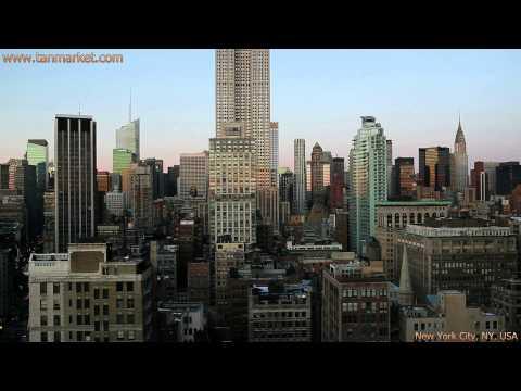 Midtown Manhattan New York City 2 Collage Video