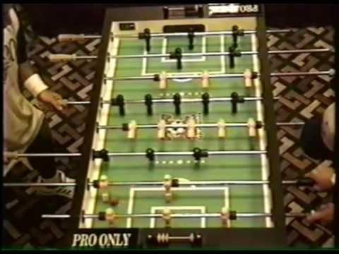 1994 Tornado Foosball Nationals, St. Louis MO., Expert Singles Finals, Mark Vennitti