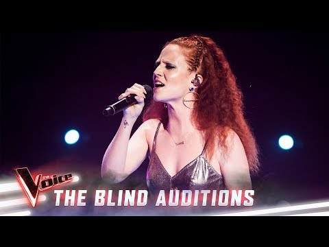 Jess Glynne Hits The Blinds Stage   The Voice Australia 2019