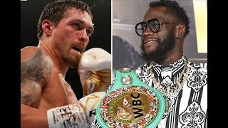"""""""DEONTAY WILDER WILL DESTROY OLEKSANDR!"""" : COUNTERPUNCHED"""