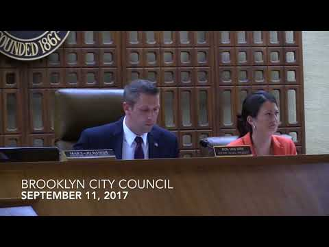 Brooklyn City Council 9/11/17
