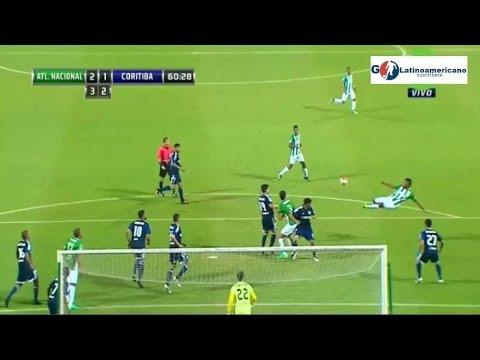 Golazo de Chalaca Borja - Nacional vs Coritiba 3-1 - Copa Sudamericana - 26/10/2016