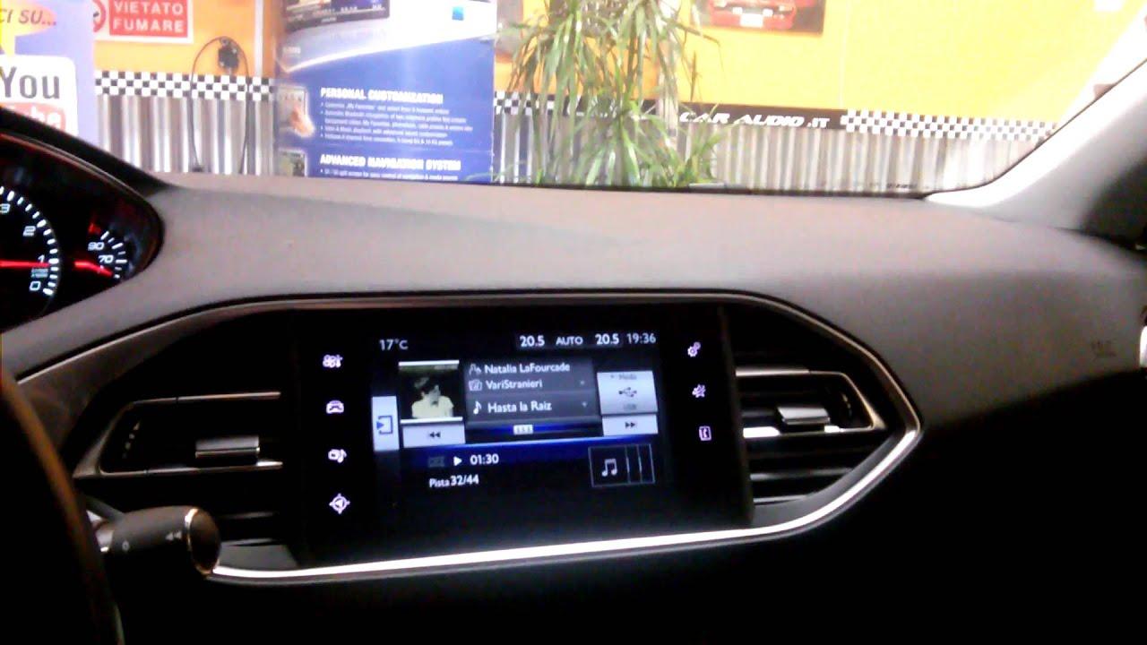 Upgrade Audio Peugeot 308 Youtube