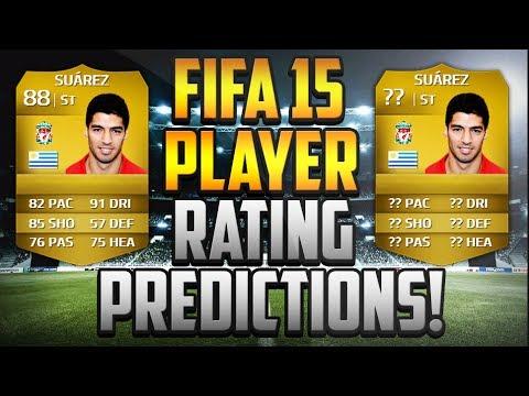 Fifa 15 player rating predictions suarez youtube