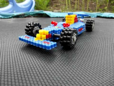 Formula 1 Car Hama Beads