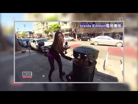 調查舊金山砸車盜竊 記者車竟被砸