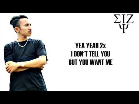 Eizy - I Don't Give A Fuck feat. Iik Alfarro ( Lyric Video )