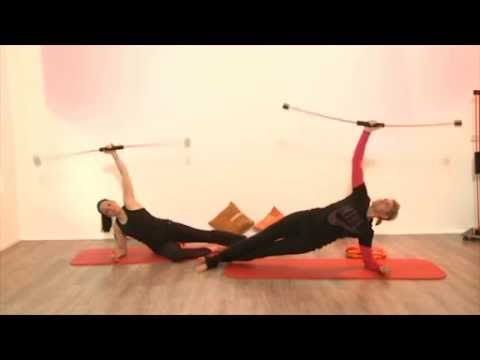dvd anleitung pilates training f r zuhause flexi bar youtube. Black Bedroom Furniture Sets. Home Design Ideas