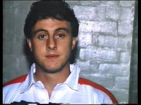 David Bishop Pontypool Legend signs for Hull Kingston Rovers Rugby League 1988
