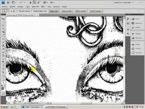 Semitono en Photoshop/Serigrafía-Halftone - YouTube