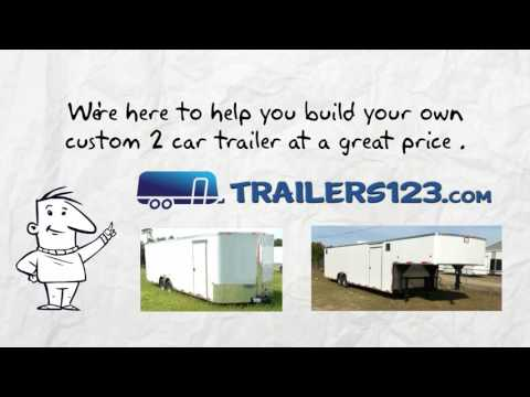 Memphis 2 Car Trailers for Sale Near Me - See Memphis Two Car Trailers Here!