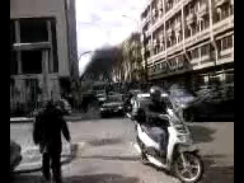 MESSINA TRAFFICO TIR TRAM AUTO DERAGLIAMENTO TRENO TAORMINA MESSINA