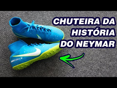 9ea5fb1c03ea2 NOVA CHUTEIRA DO NEYMAR - NIKE MERCURIALX REVIEW - YouTube