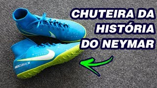 NOVA CHUTEIRA DO NEYMAR - NIKE MERCURIALX REVIEW