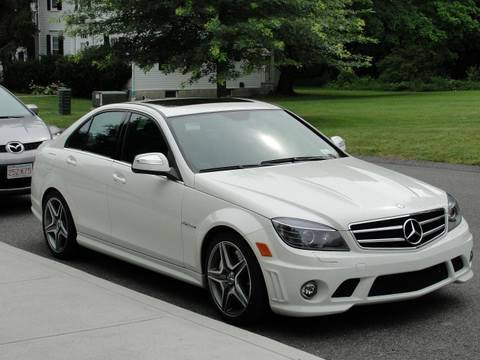 white mercedes c63 amg sedan youtube. Black Bedroom Furniture Sets. Home Design Ideas