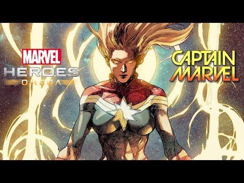 Marvel Heroes Omega CAPTAIN MARVEL Deserved Better Than Civil War II Live Stream (Playstation 4 Pro)