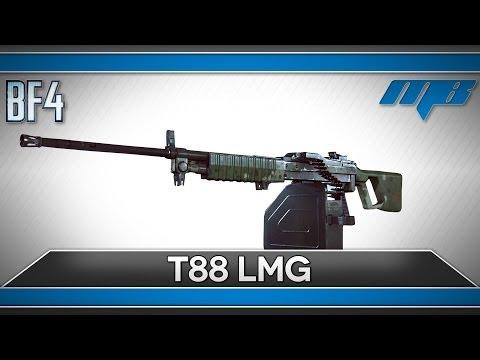 Battlefield 4 Type 88 (T88) LMG (BF4 Gameplay/GameDoku)