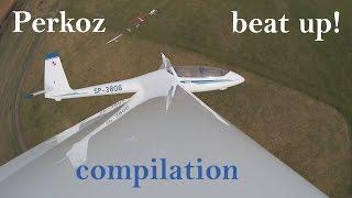 SZD-54 Perkoz low pass compilation