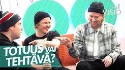 Totuus vai tehtävä? ft. Gasellit / Visio Live