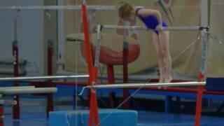 Спортивная гимнастика. Девочки. 2-ой юношеский разряд. Брусья.