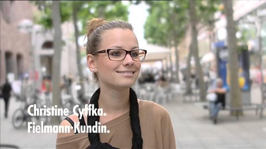 achten Sie auf beispiellos Top Marken Brille : Fielmann Werbung 2013