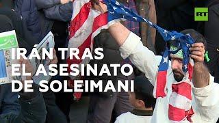 """Irán tras el asesinato de Soleimani: """"Nos vengaremos""""."""