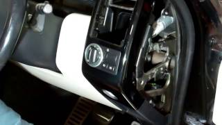 How to remove the RH dash end trim & light switch on 2006 Range Rover L322