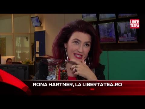 """Rona Hartner vorbeşte despre viaţa de artist la """"Interviurile Libertatea LIVE"""""""