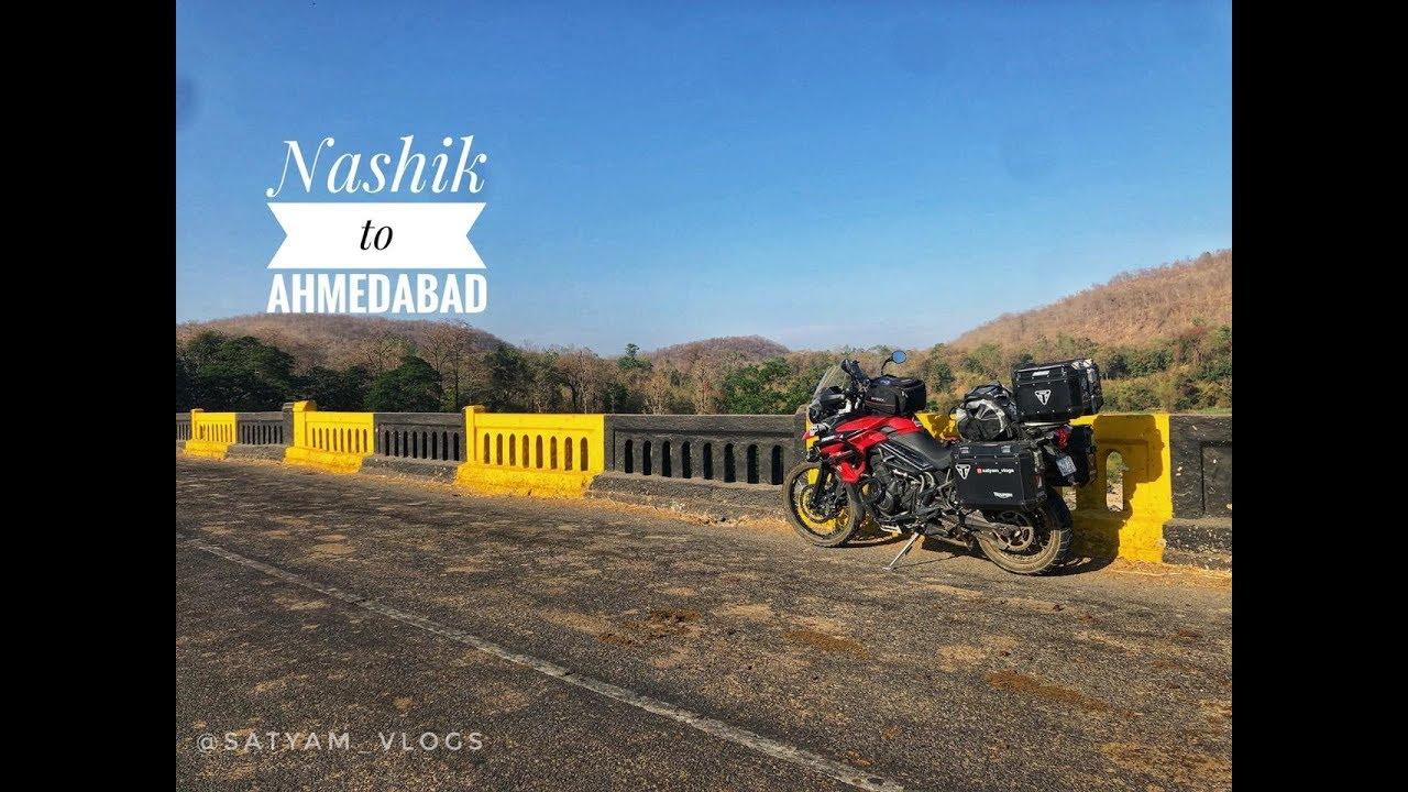 Nashik To Ahmedabad On Triumph Tiger 800 Xca Youtube