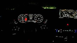 Audi A5 / S5 Sportback 2018 - Interior Lighting At Night (w/ Lighting Plus Package)