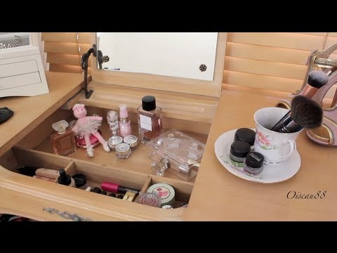 My Makeup Vanity♥Most Used Makeup Collection