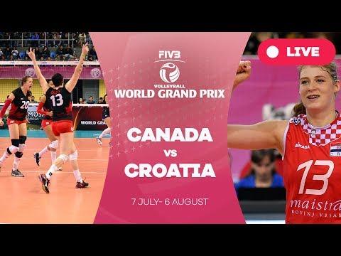 Canada v Croatia - Group 2: 2017 FIVB Volleyball World Grand Prix