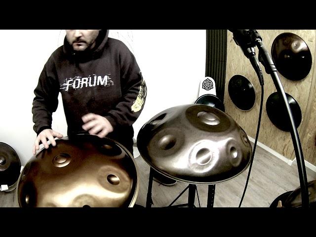 Handpan Music for fighting Coronavirus. Play by Yishama & Prima Handpan