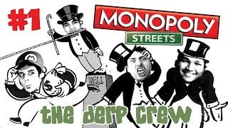 New Game! (Monopoly Streets w/ The Derp Crew / Facecam Pt. 1)
