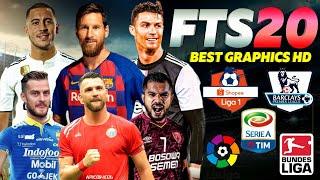 Gambar cover Download FTS 2020 HD Spesial Shopee Liga 1 Indonesia 2019 All Liga Eropa Jersey & Transfer Terbaru