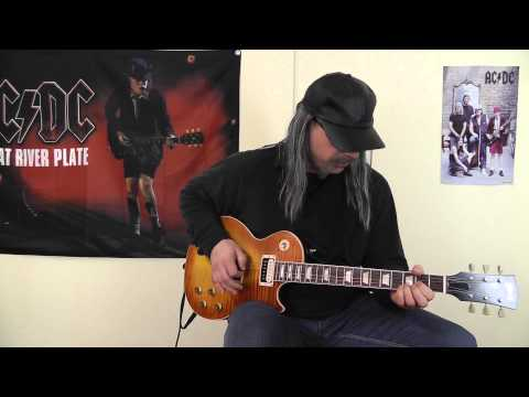 AC/DC - War Machine cover by RhythmGuitarX