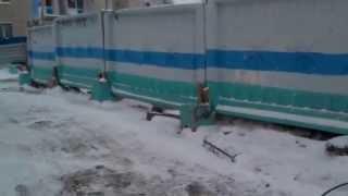 Дорога жизни Закаменского микрорайона г. Новосибирска